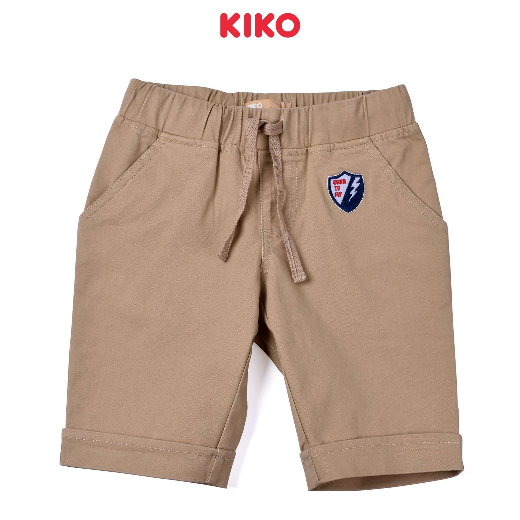 KIKO Boy Cotton Short Pants- Khaki 130115-243 : Buy KIKO online at CMG.MY