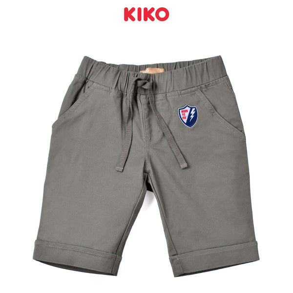 KIKO Boy Cotton Short Pants- Olive 130115-244 : Buy KIKO online at CMG.MY