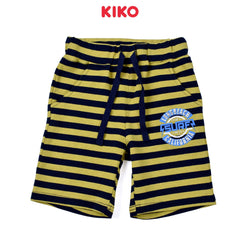 KIKO Boy Knit Short Pants - Yellow 121264-283 : Buy KIKO online at CMG.MY