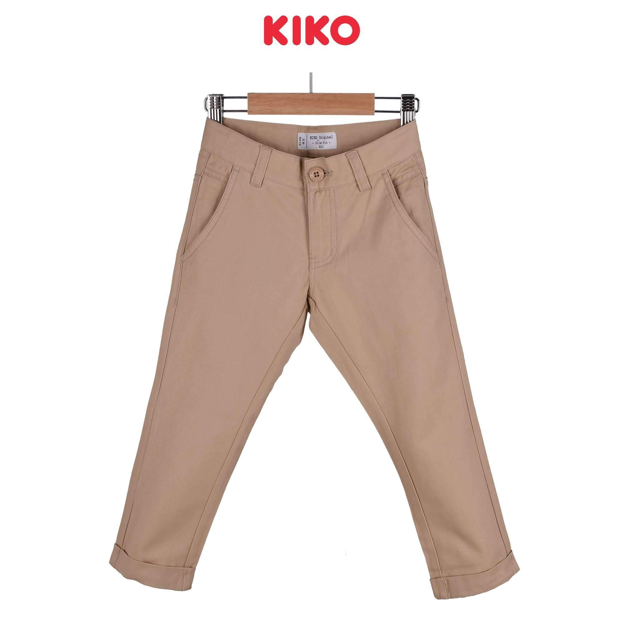 KIKO Boy Long Pants Slim Fit - Beige 120064-252 : Buy KIKO online at CMG.MY