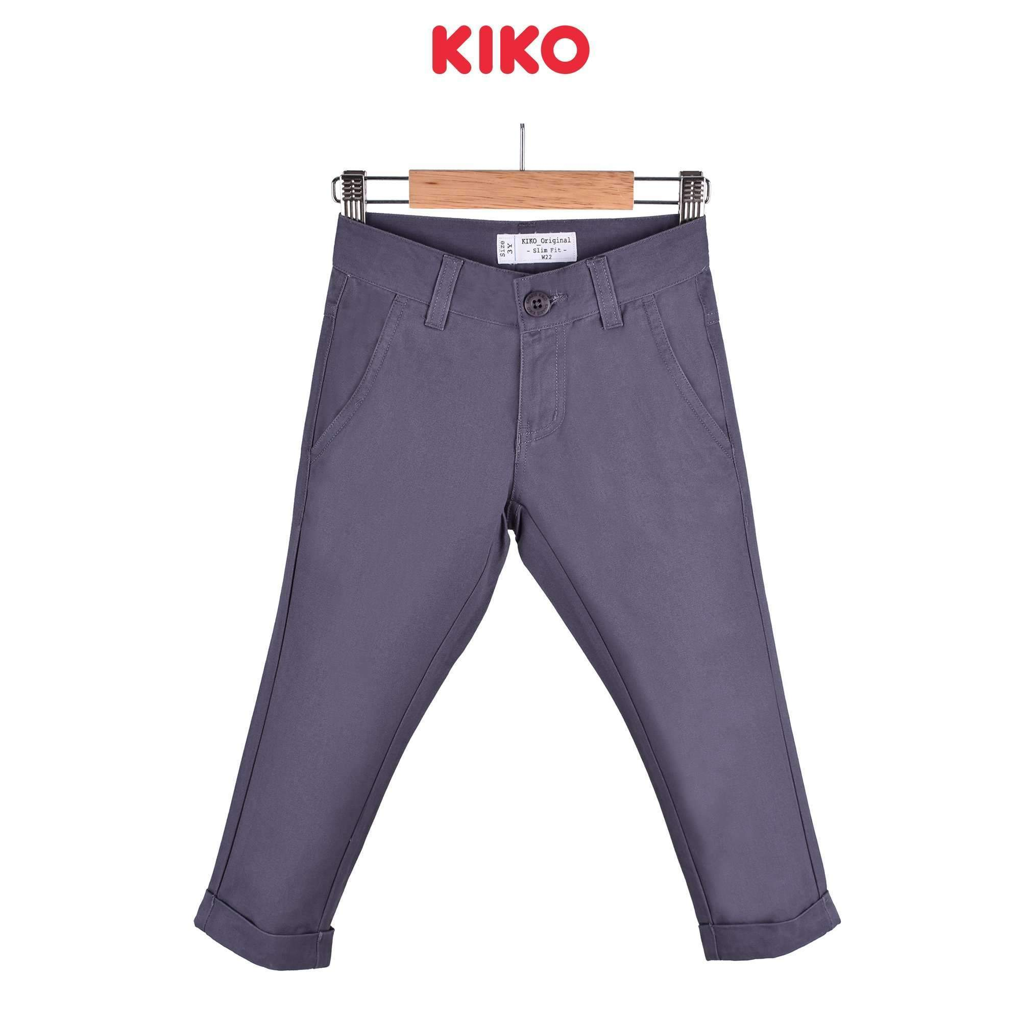 KIKO Boy Long Pants Slim Fit 120063-252 : Buy KIKO online at CMG.MY