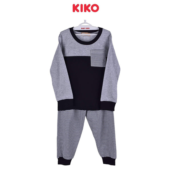 KIKO Boy Long Sleeve Long Pants Suit 121237-434 : Buy KIKO online at CMG.MY