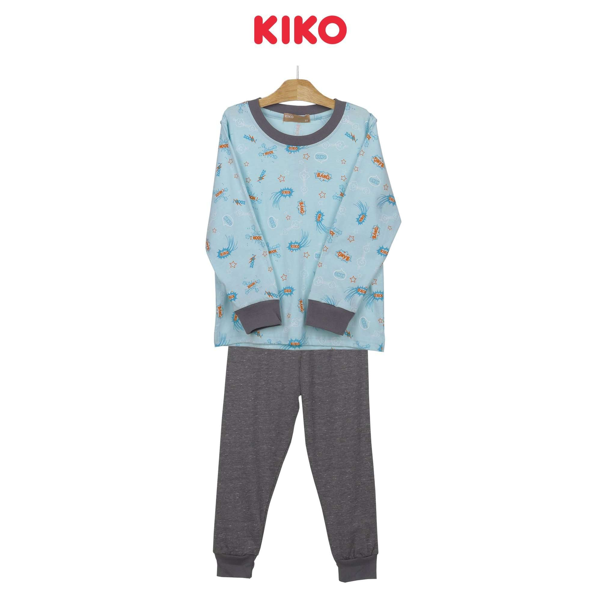 KIKO Boy Long Sleeve Long Pants Suit Pyjamas 121244-431 : Buy KIKO online at CMG.MY