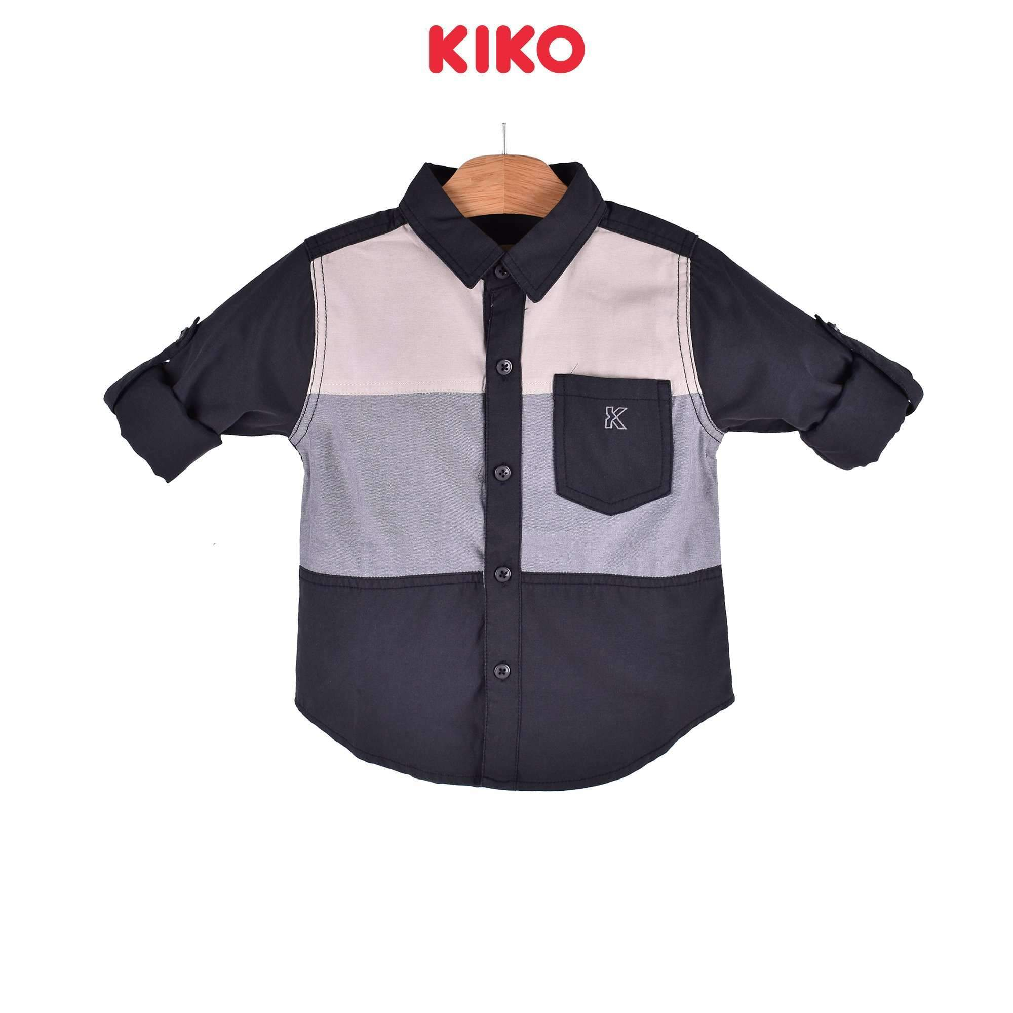 KIKO Boy Long Sleeve Shirt - Black 120070-151 : Buy KIKO online at CMG.MY