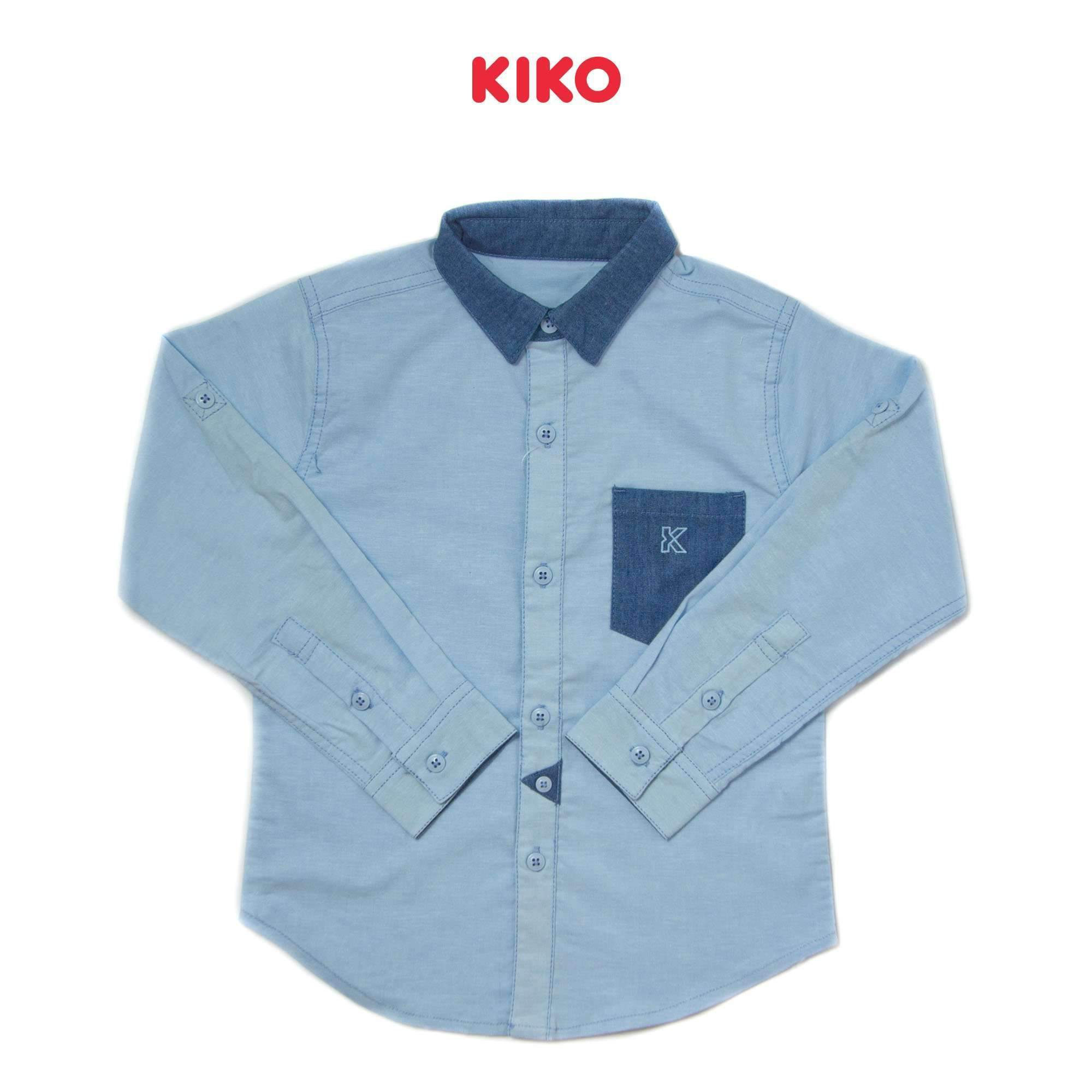 KIKO Boy Long Sleeve Shirt 110065-151 : Buy KIKO online at CMG.MY