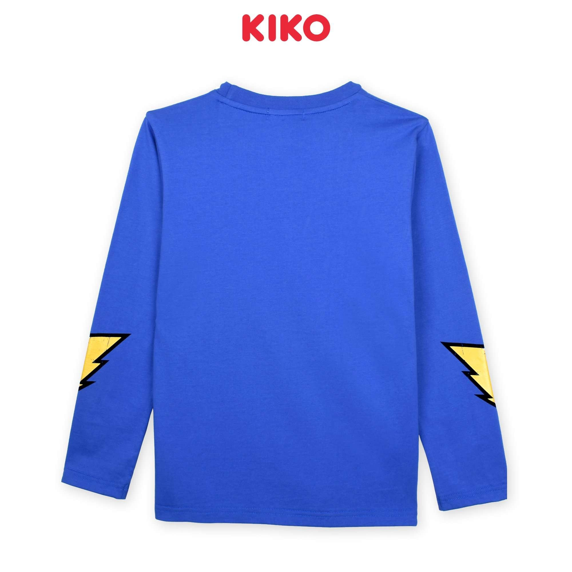 KIKO Boy Long Sleeve Tee - Blue K923103-1324-L5 : Buy KIKO online at CMG.MY