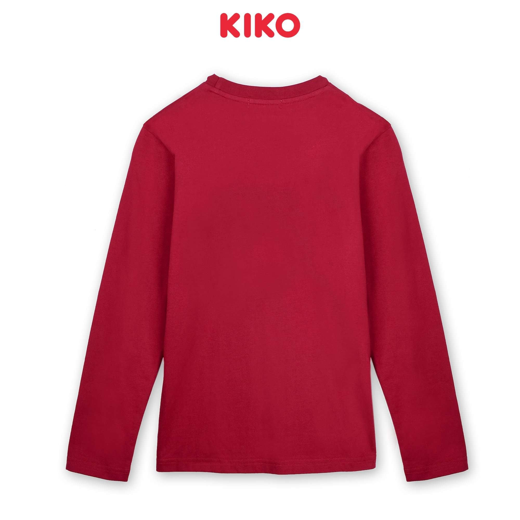 KIKO Boy Long Sleeve Tee - Maroon K923103-1322-R8 : Buy KIKO online at CMG.MY