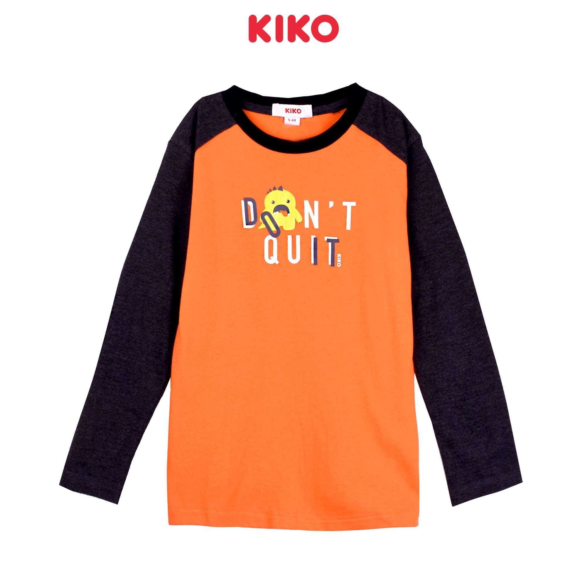 KIKO Boy Long Sleeve Tee - Orange K922103-1320-E5 : Buy KIKO online at CMG.MY