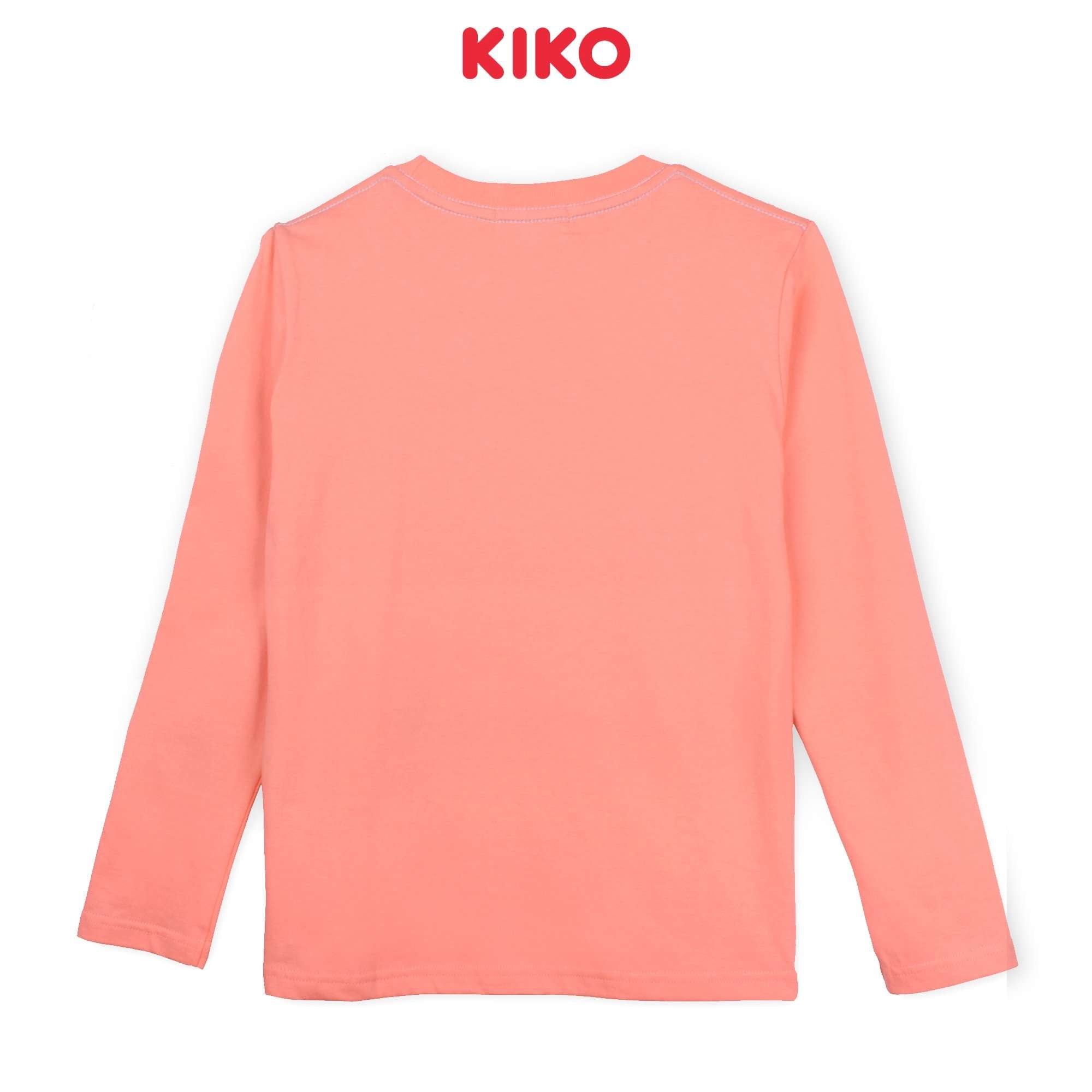 KIKO Boy Long Sleeve Tee - Orange  K923103-1313-E5 : Buy KIKO online at CMG.MY