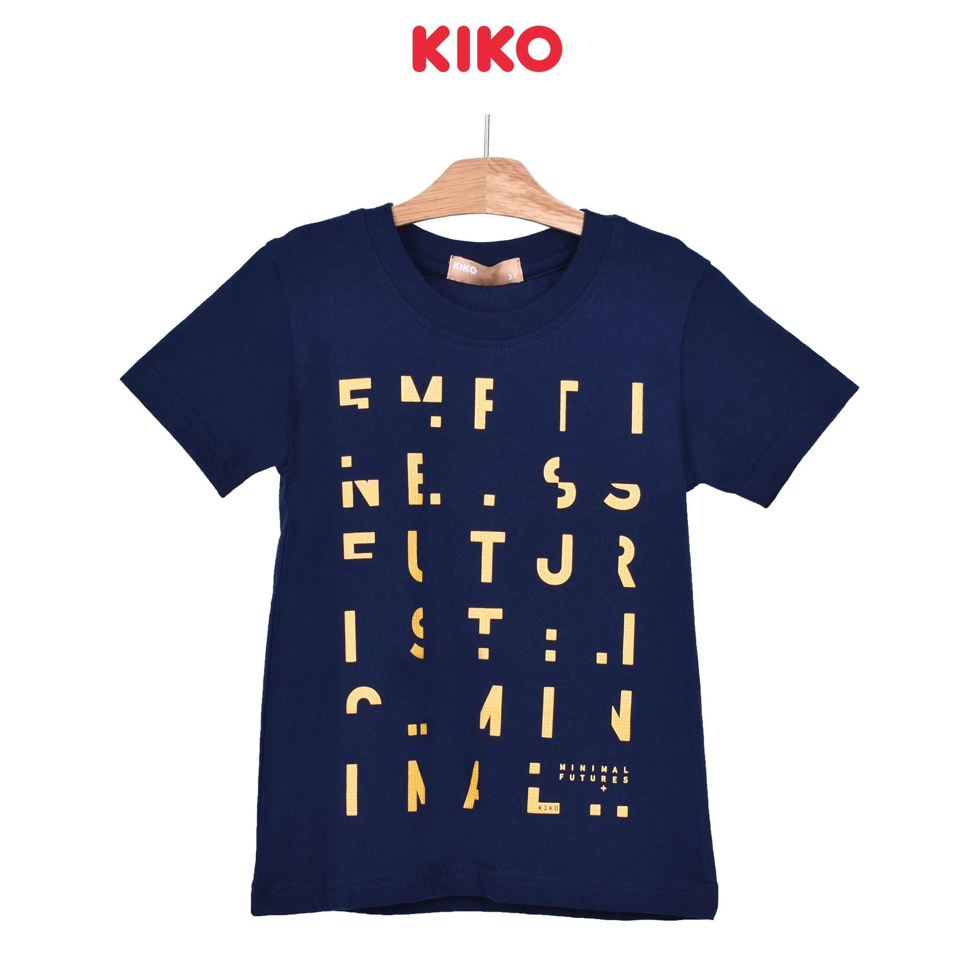 KIKO Boy Round Neck Short Sleeve Tee - Navy 121248-111 : Buy KIKO online at CMG.MY