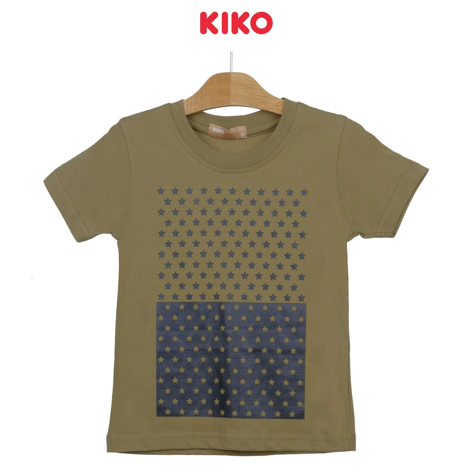 KIKO Boy Round Neck Short Sleeve Tee 121249-114 : Buy KIKO online at CMG.MY