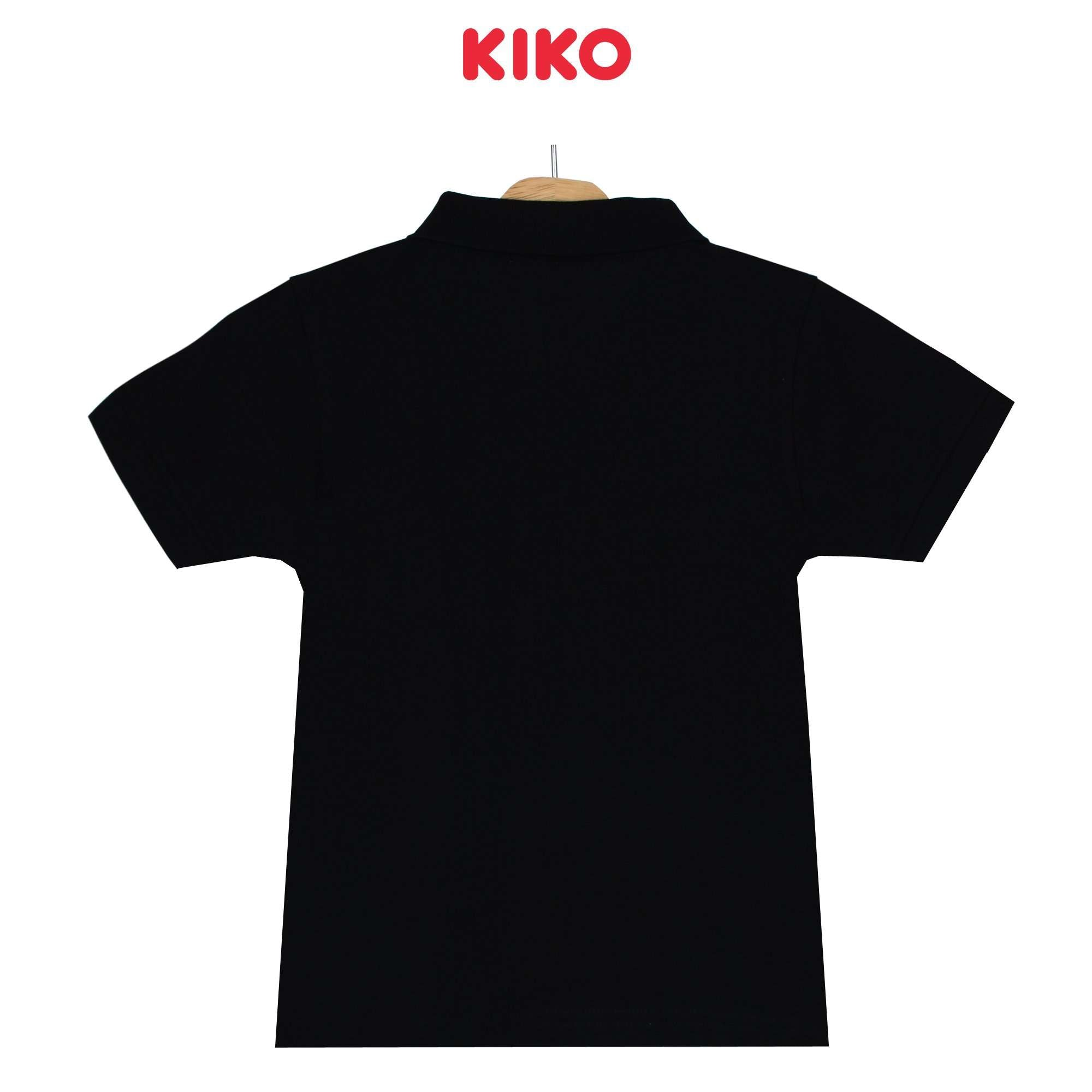 KIKO Boy Short Sleeve Collar Tee - Black 130096-122 : Buy KIKO online at CMG.MY
