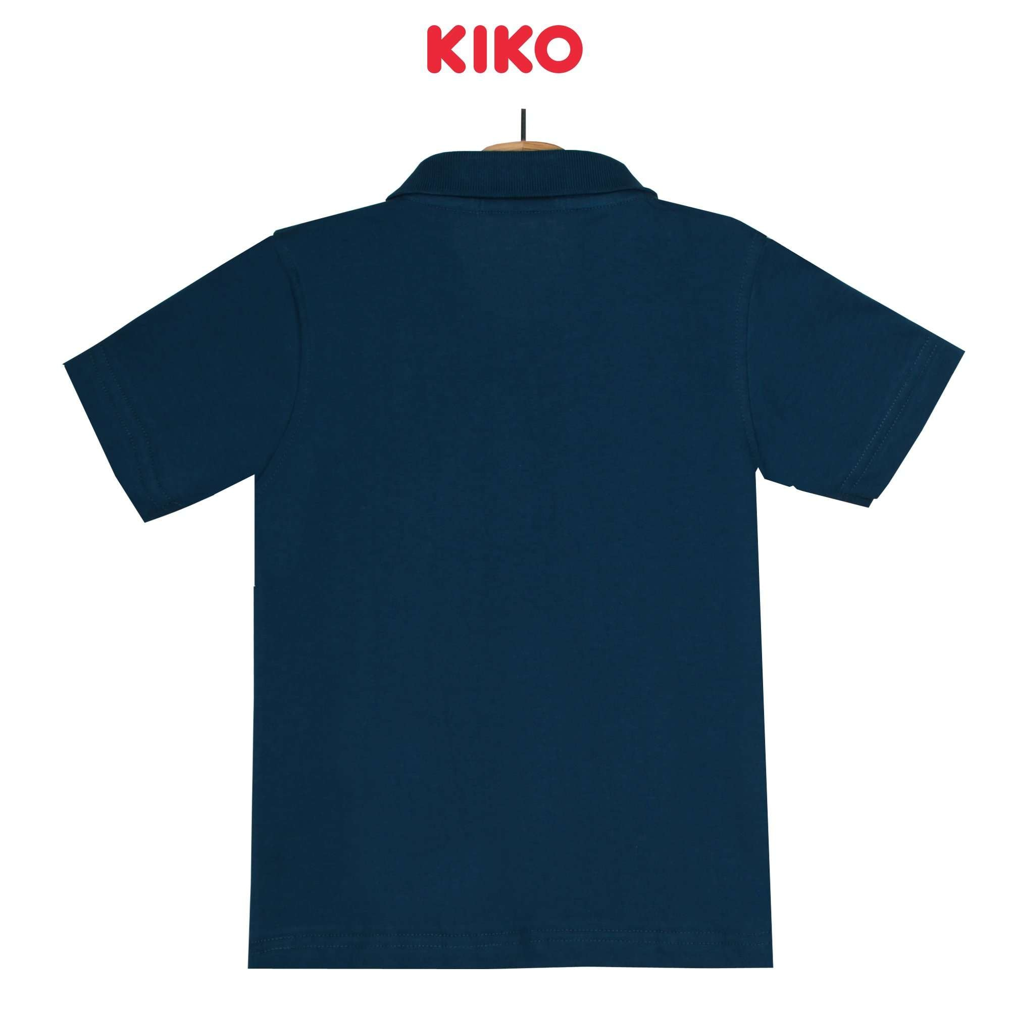 KIKO Boy Short Sleeve Collar Tee - Blue 130096-121 : Buy KIKO online at CMG.MY
