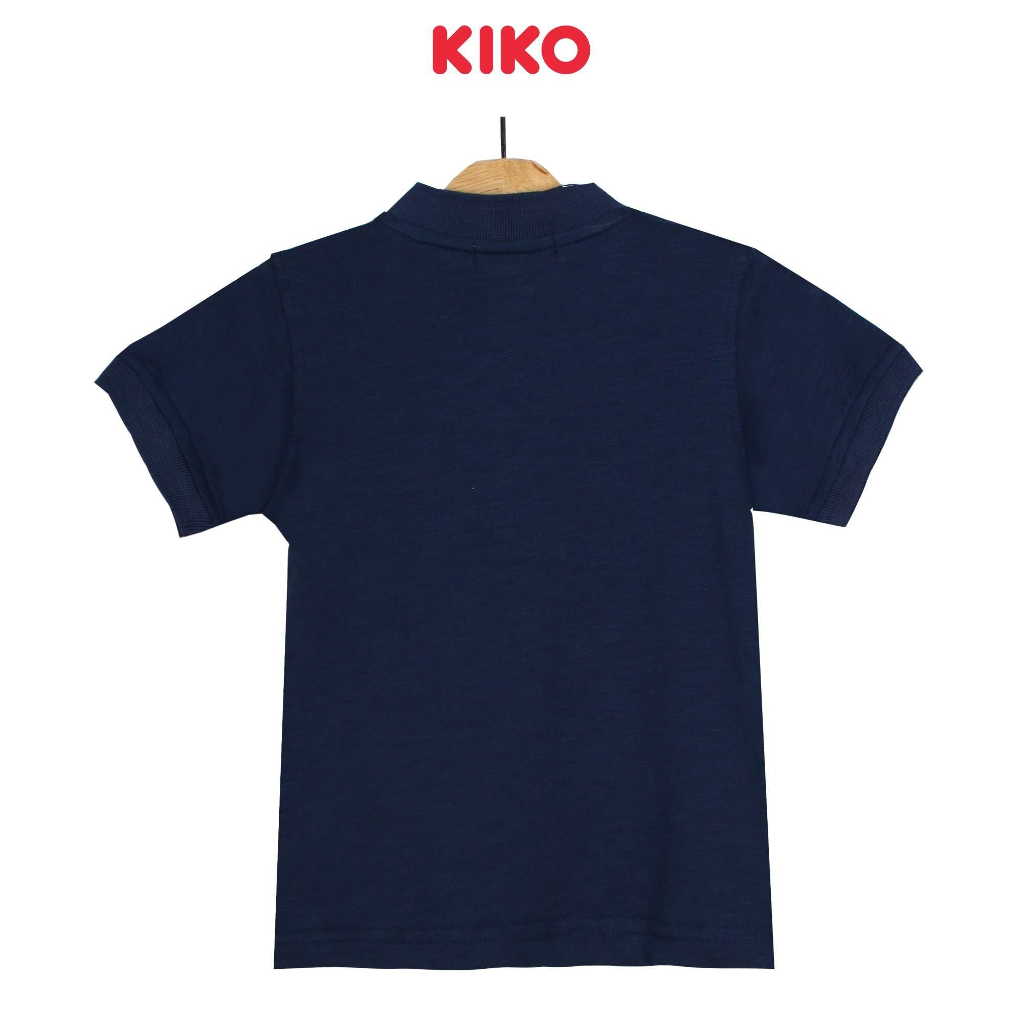 KIKO Boy Short Sleeve Collar Tee -Blue 130091-122 : Buy KIKO online at CMG.MY