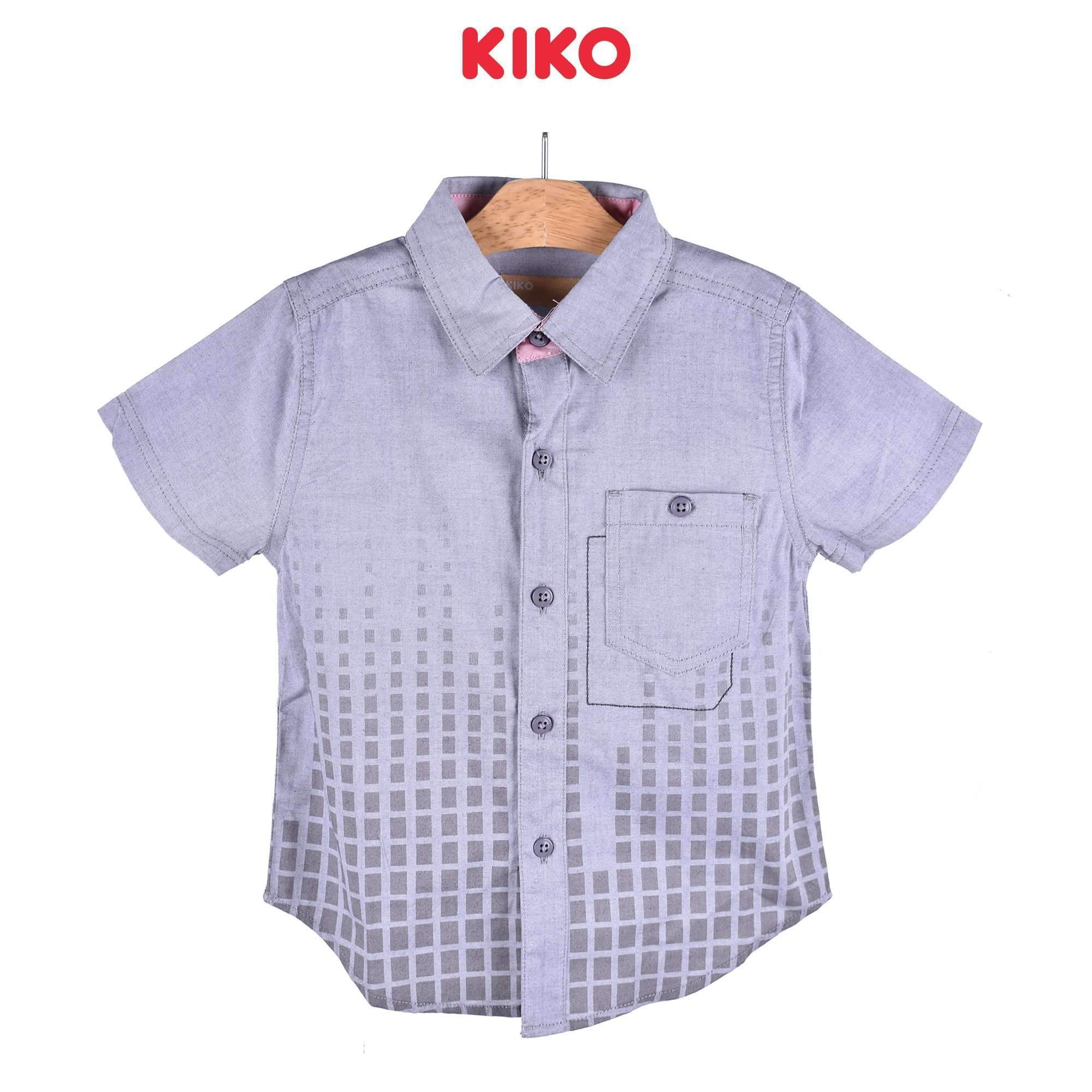 KIKO Boy Short Sleeve Shirt - Grey 120070-141 : Buy KIKO online at CMG.MY