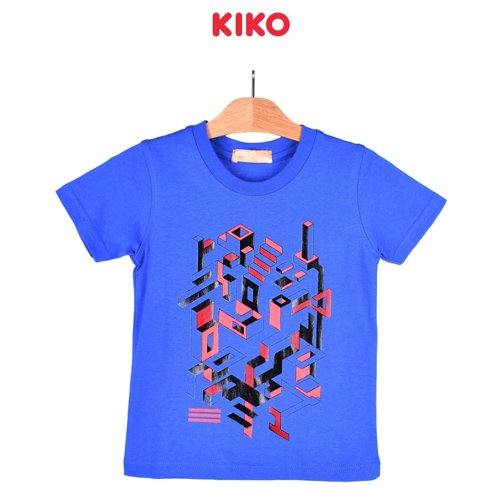 KIKO Boy Short Sleeve Tee - Blue 121251-112 : Buy KIKO online at CMG.MY