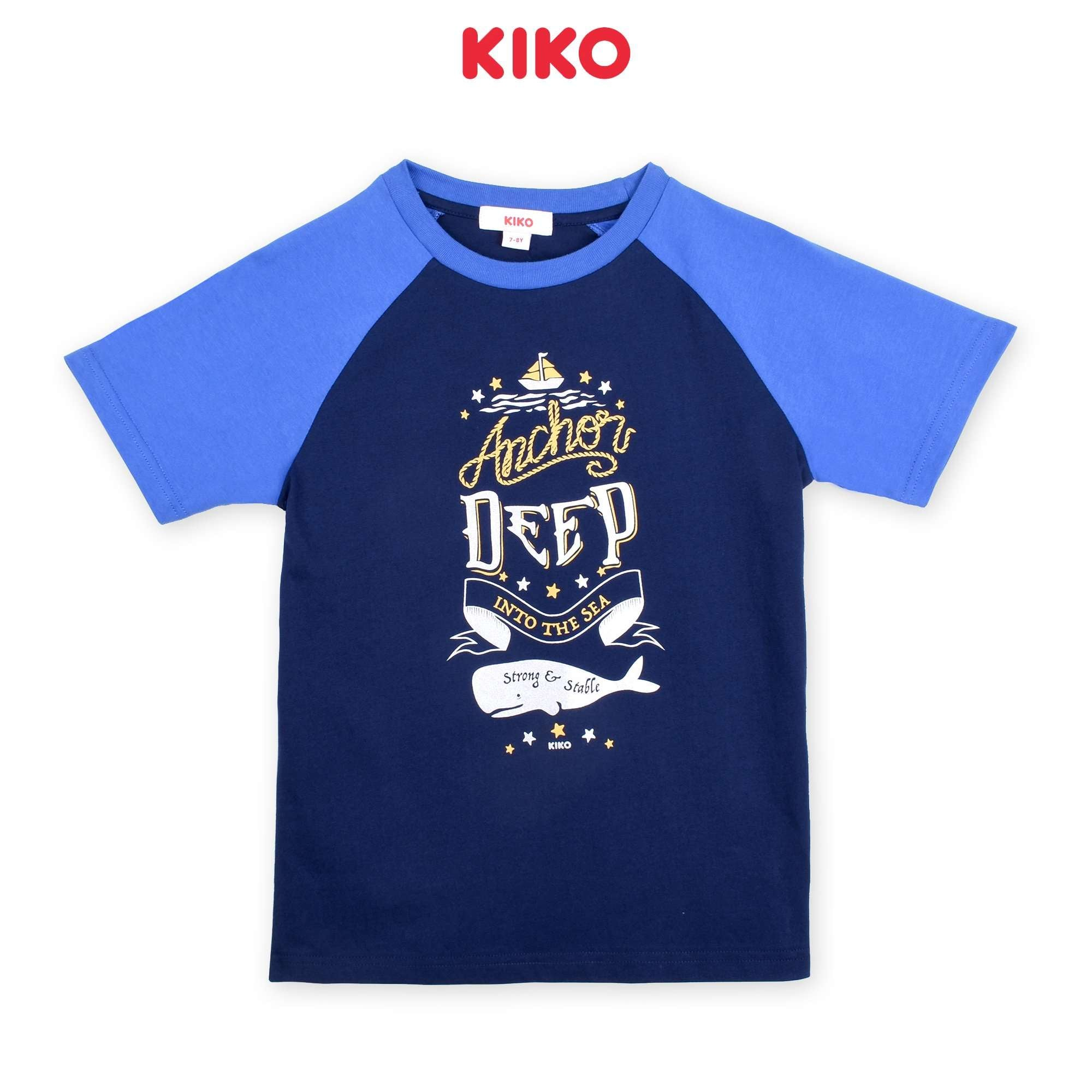 KIKO Boy Short Sleeve Tee - Blue K923103-1116-L5 : Buy KIKO online at CMG.MY
