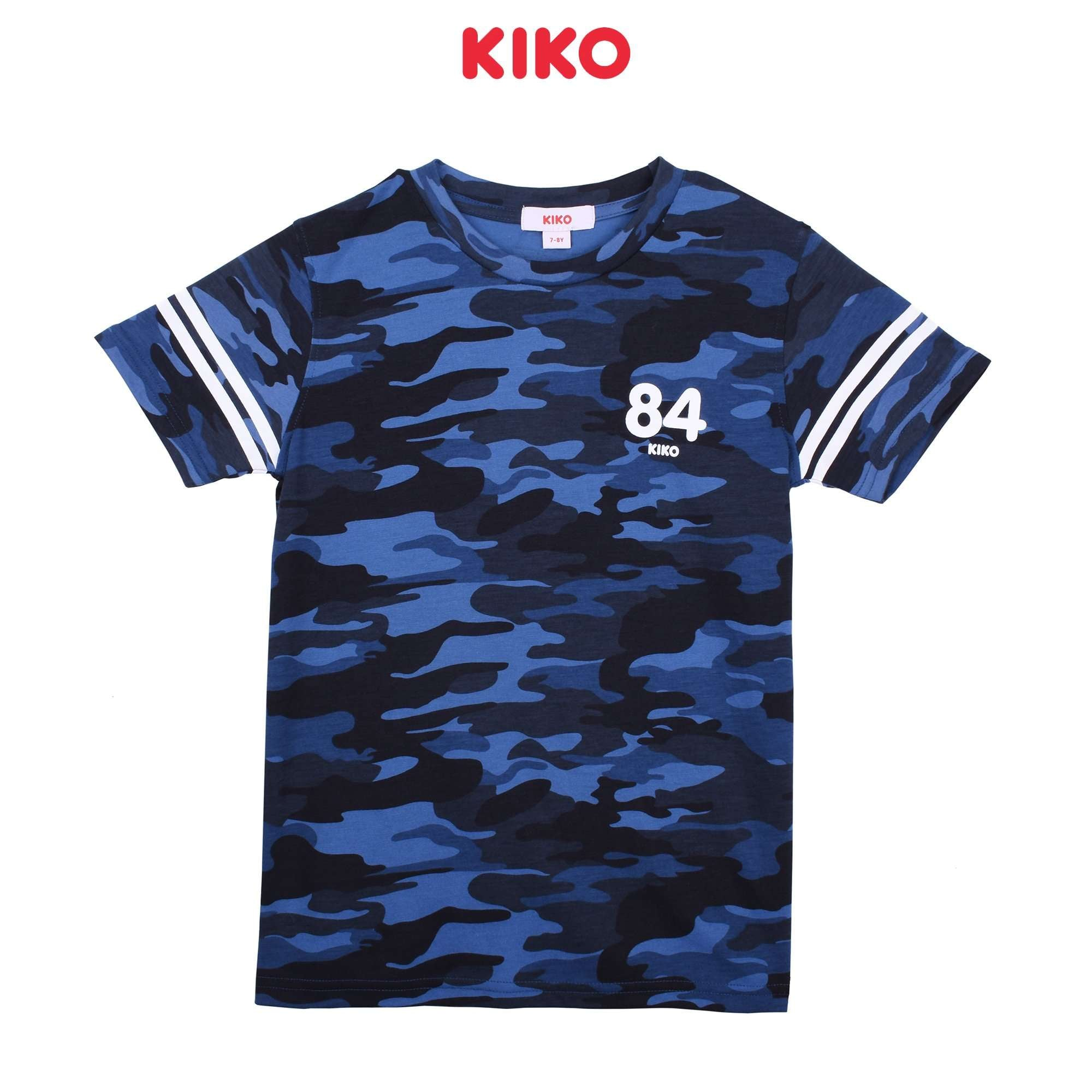 KIKO Boy Short Sleeve Tee - Blue K923103-1118-L5 : Buy KIKO online at CMG.MY