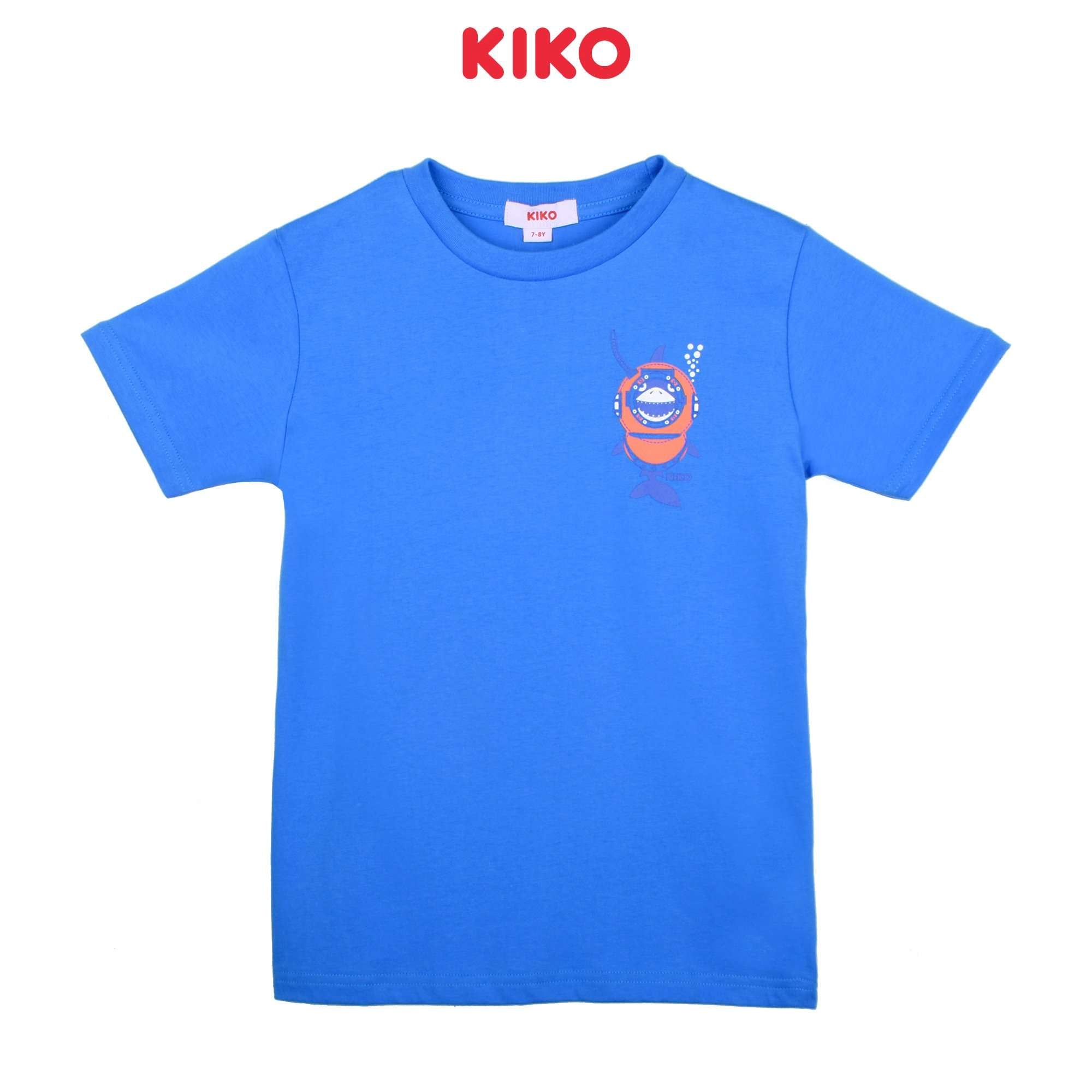 KIKO Boy Short Sleeve Tee - Blue K923103-1119-L5 : Buy KIKO online at CMG.MY