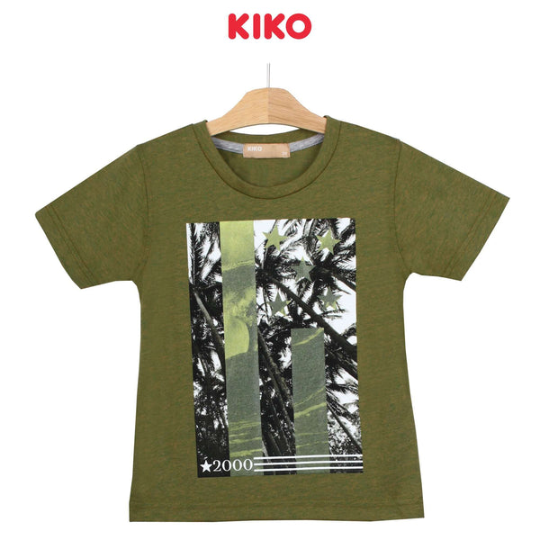 KIKO Boy Short Sleeve Tee - Green 130096-111 : Buy KIKO online at CMG.MY