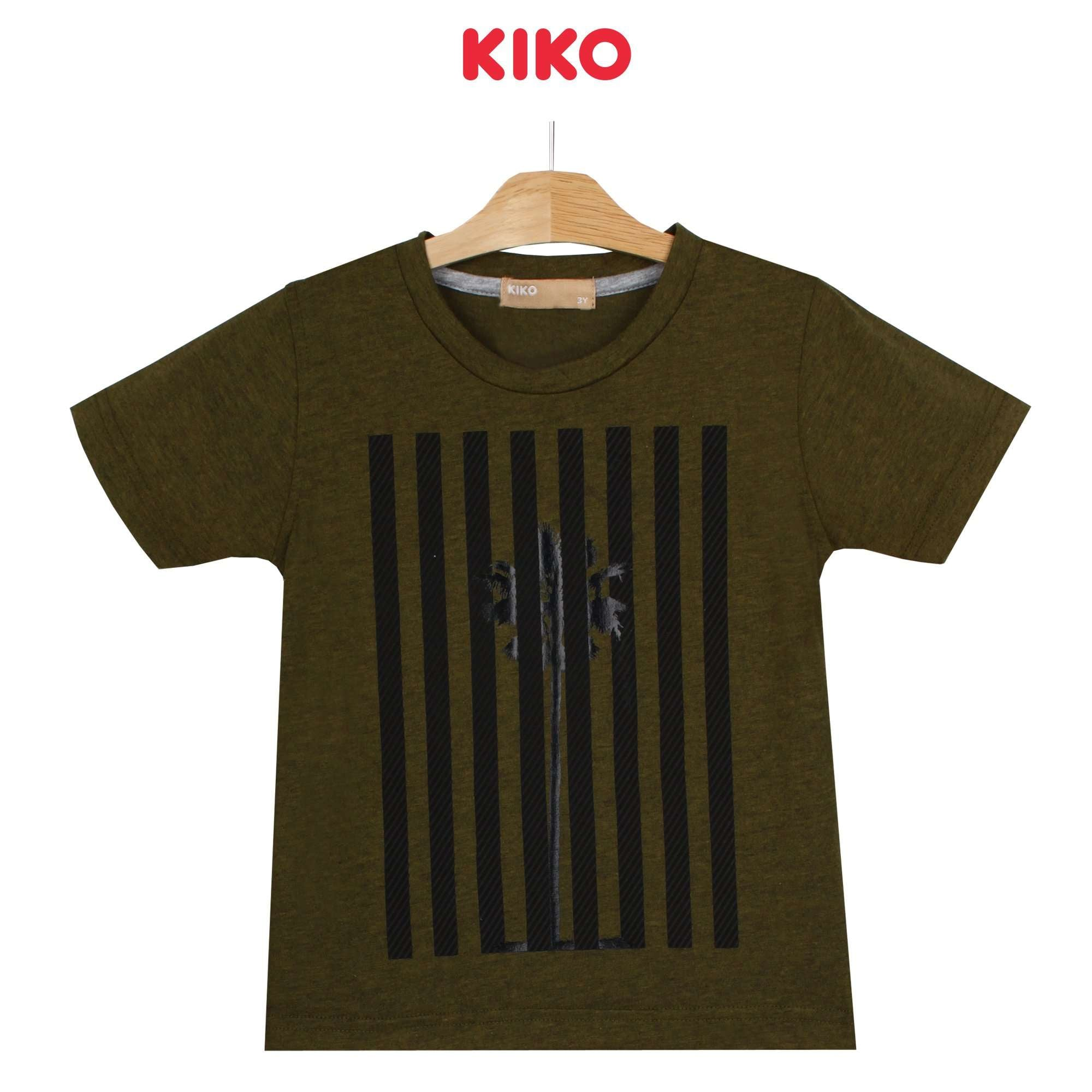 KIKO Boy Short Sleeve Tee - Green 130096-112 : Buy KIKO online at CMG.MY