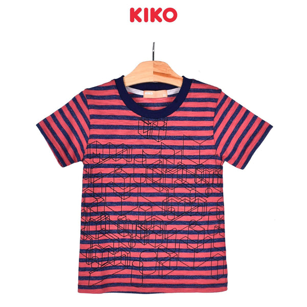 KIKO Boy Short Sleeve Tee - Light Maroon 121261-113 : Buy KIKO online at CMG.MY