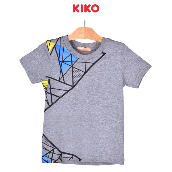 KIKO Boy Short Sleeve Tee - Melange 121250-111 : Buy KIKO online at CMG.MY