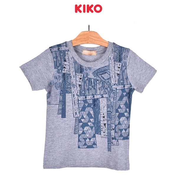 KIKO Boy Short Sleeve Tee - Melange 121251-113 : Buy KIKO online at CMG.MY