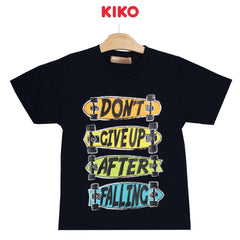 KIKO Boy Short Sleeve Tee - Navy 130090-112 : Buy KIKO online at CMG.MY