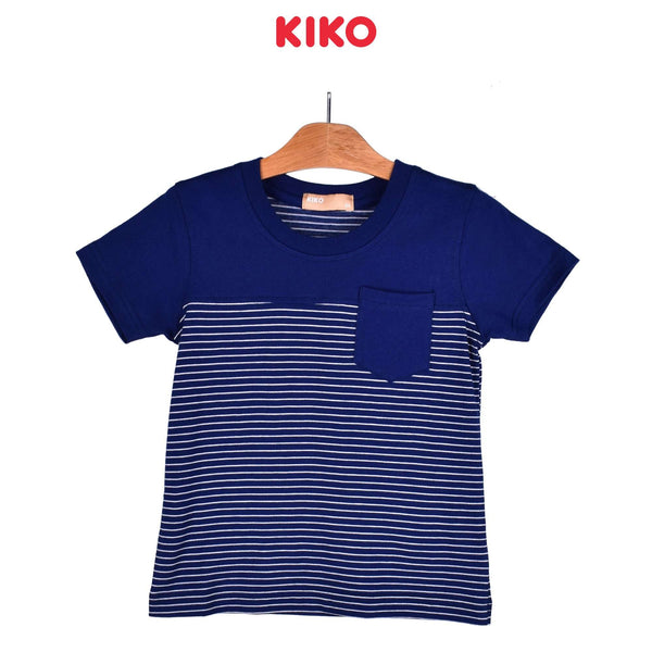 KIKO Boy Short Sleeve Tee - Navy 130100-113 : Buy KIKO online at CMG.MY