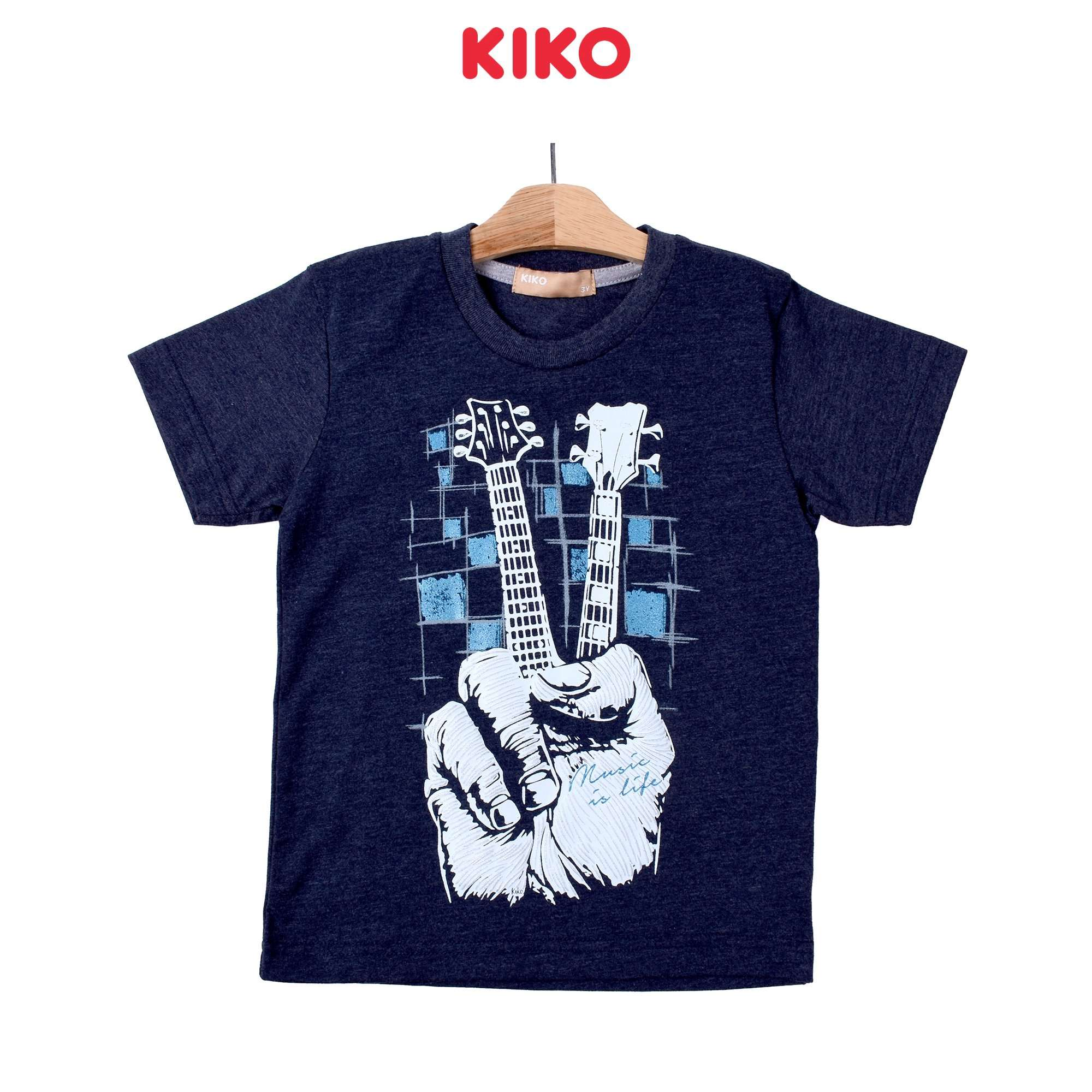 KIKO Boy Short Sleeve Tee - Navy 130108-111 : Buy KIKO online at CMG.MY