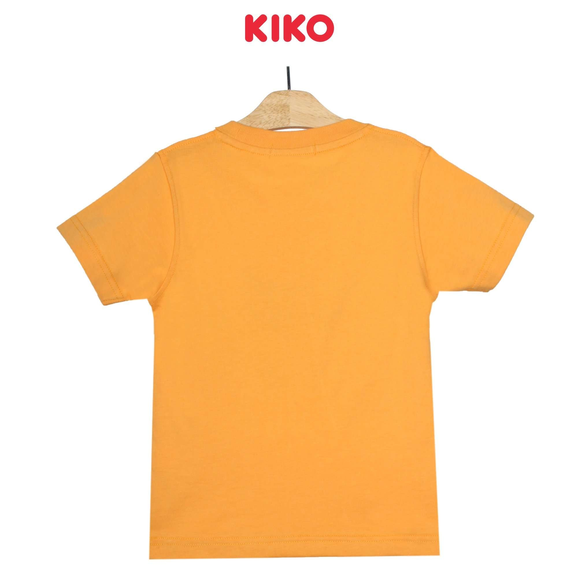 KIKO Boy Short Sleeve Tee - Orange 130093-111 : Buy KIKO online at CMG.MY