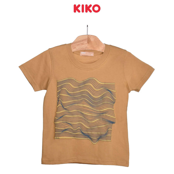 KIKO Boy Short Sleeve Tee- Brown 121258-111 : Buy KIKO online at CMG.MY