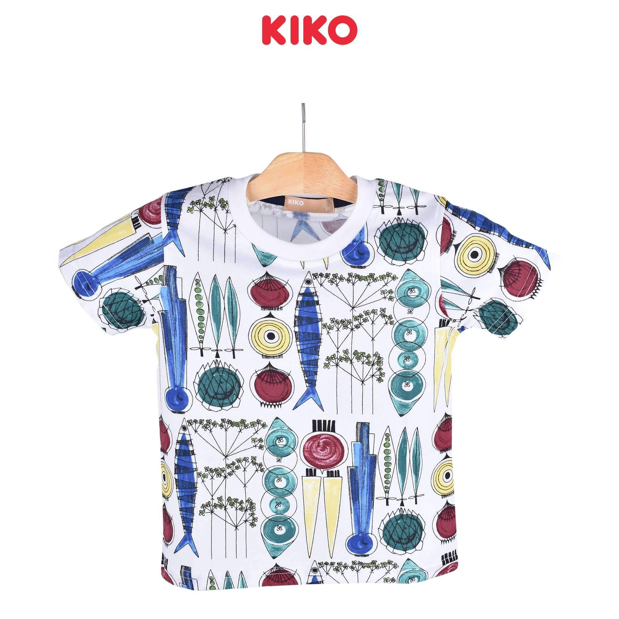 KIKO Boy Short Sleeve Tee 121255-114 : Buy KIKO online at CMG.MY