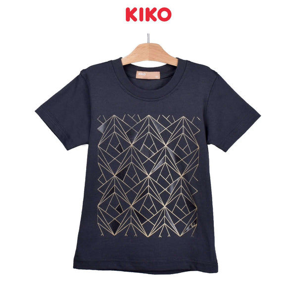 KIKO Boy Short Sleeve Tee-Dark Grey 121256-114 : Buy KIKO online at CMG.MY