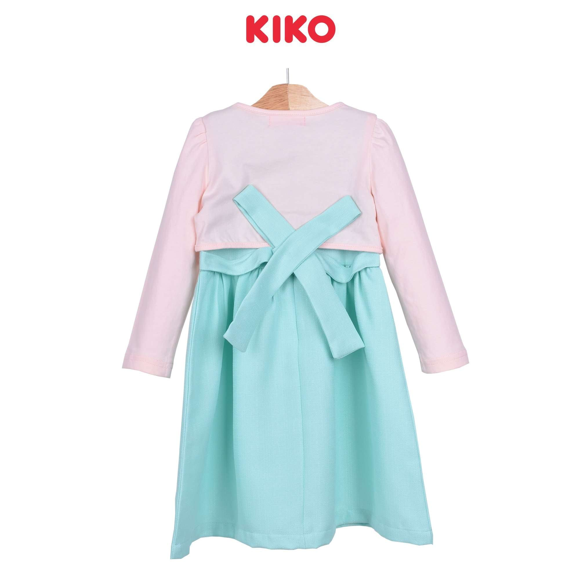 KIKO Girl Dress With Cardigan - Light Green 115069-322 : Buy KIKO online at CMG.MY