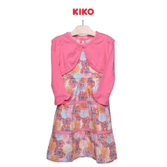 KIKO Girl Dress With Cardigan Maxi 115045-321 : Buy KIKO online at CMG.MY