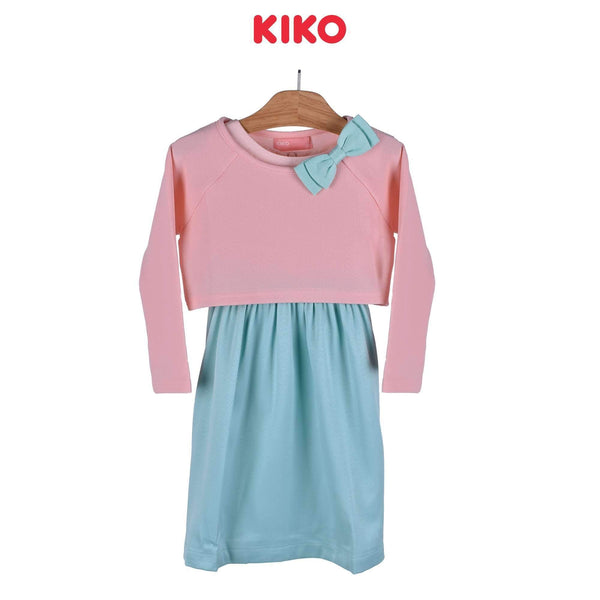 KIKO Girl Dress With Cardigan Knee 115039-321 : Buy KIKO online at CMG.MY