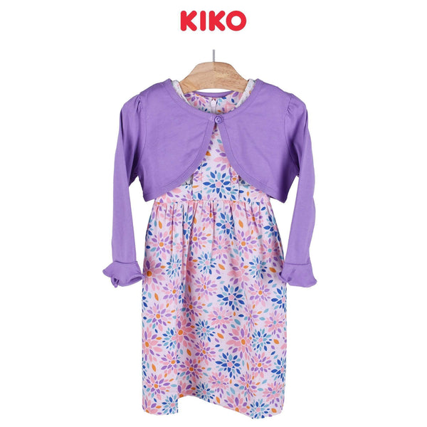 KIKO Girl Dress With Cardigan Knee 115046-322 : Buy KIKO online at CMG.MY