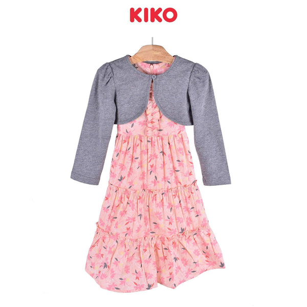 KIKO Girl Dress with Cardigan Maxi 115039-322 : Buy KIKO online at CMG.MY