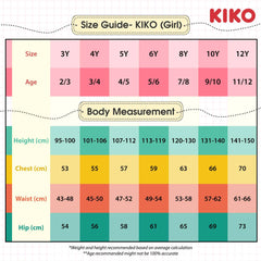 KIKO Girl Jeans Straight Cut 135050-216 : Buy KIKO online at CMG.MY
