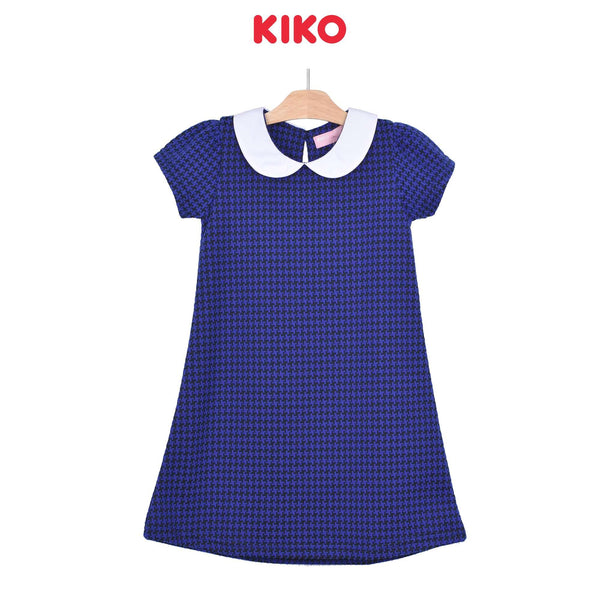 KIKO Girl Short Sleeve Dress - Blue 126071-331 : Buy KIKO online at CMG.MY