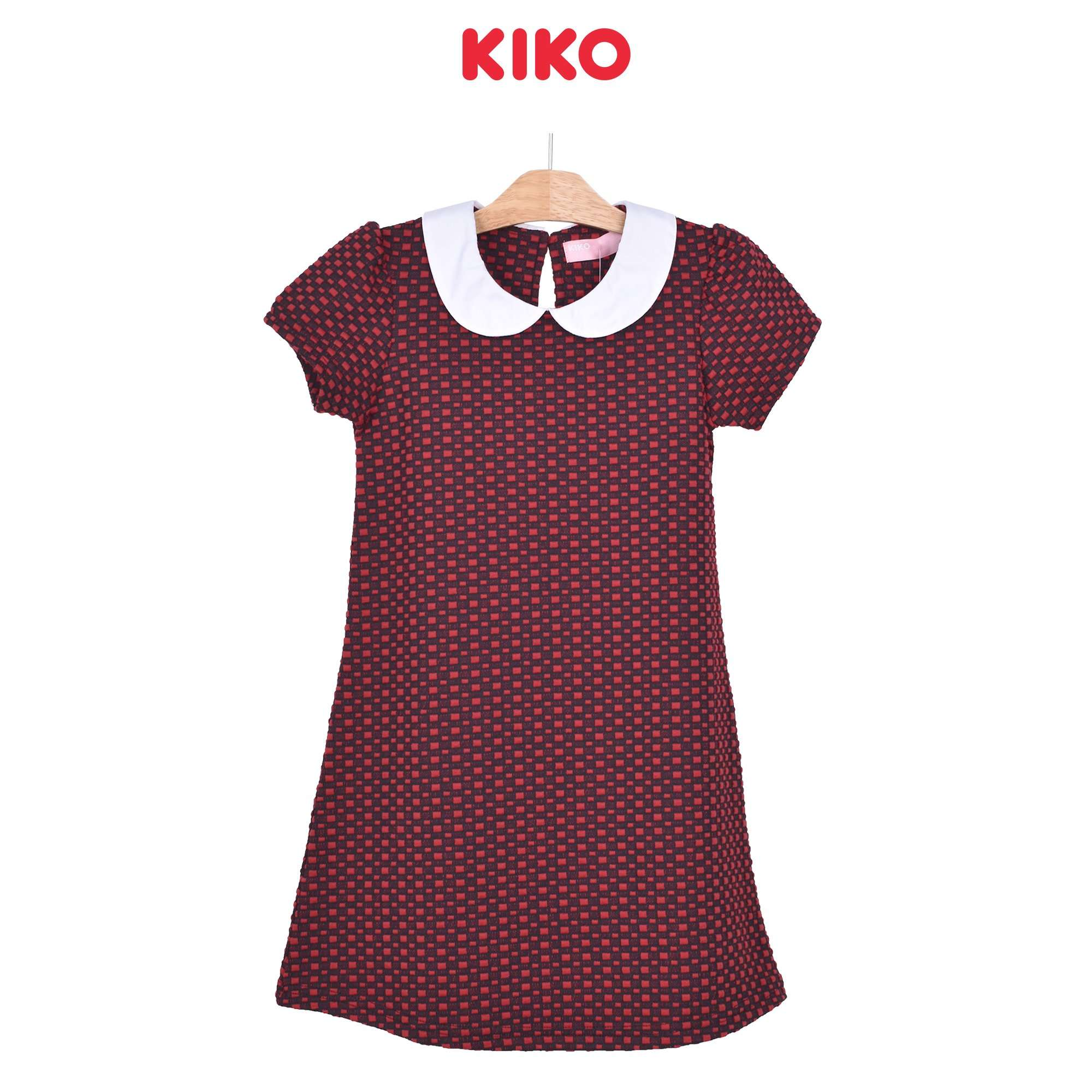 KIKO Girl Short Sleeve Dress - Red 126071-331 : Buy KIKO online at CMG.MY