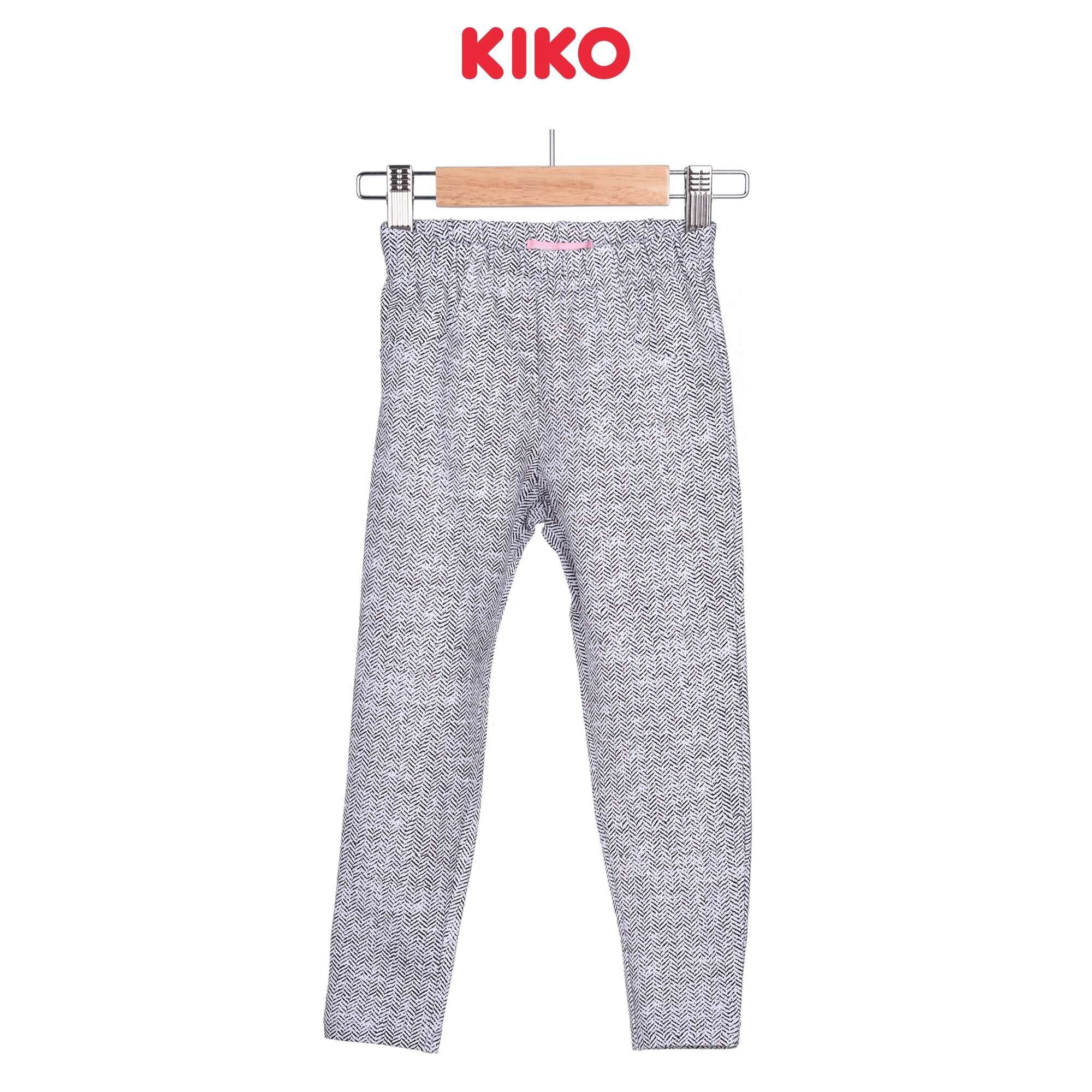 KIKO Girl Long Pants Leggings - White 126069-281 : Buy KIKO online at CMG.MY