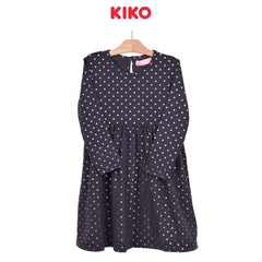 KIKO Girl Long Sleeve Dress - Dark Grey 126093-333 : Buy KIKO online at CMG.MY