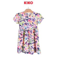 KIKO Girl Short Sleeve Dress Knit - Floral 126060-331 : Buy KIKO online at CMG.MY