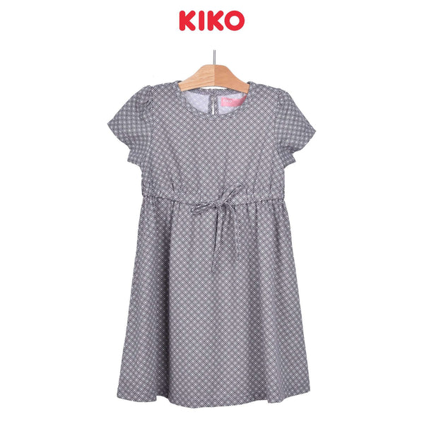 KIKO Girl Short Sleeve Dress - Melange 126093-331 : Buy KIKO online at CMG.MY