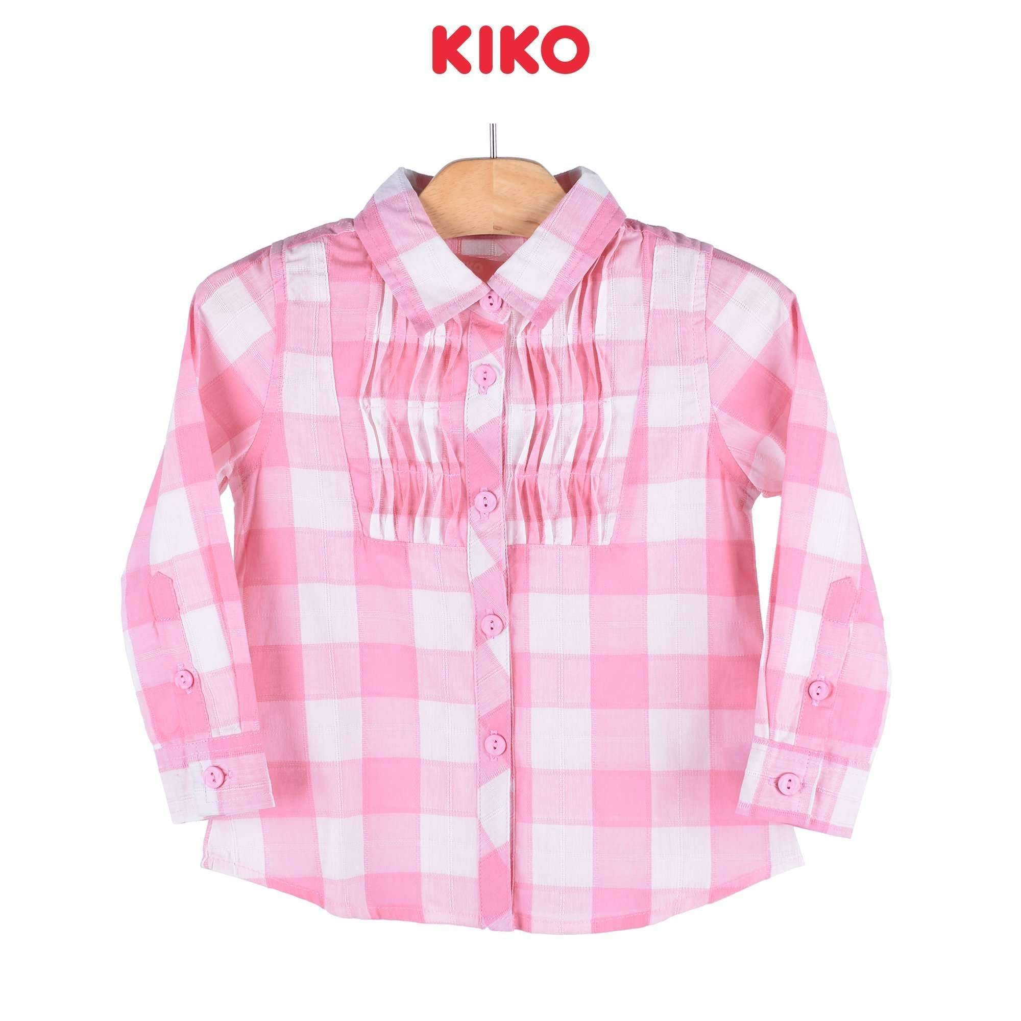 KIKO Girl Long Sleeve Blouse 125048-152 : Buy KIKO online at CMG.MY