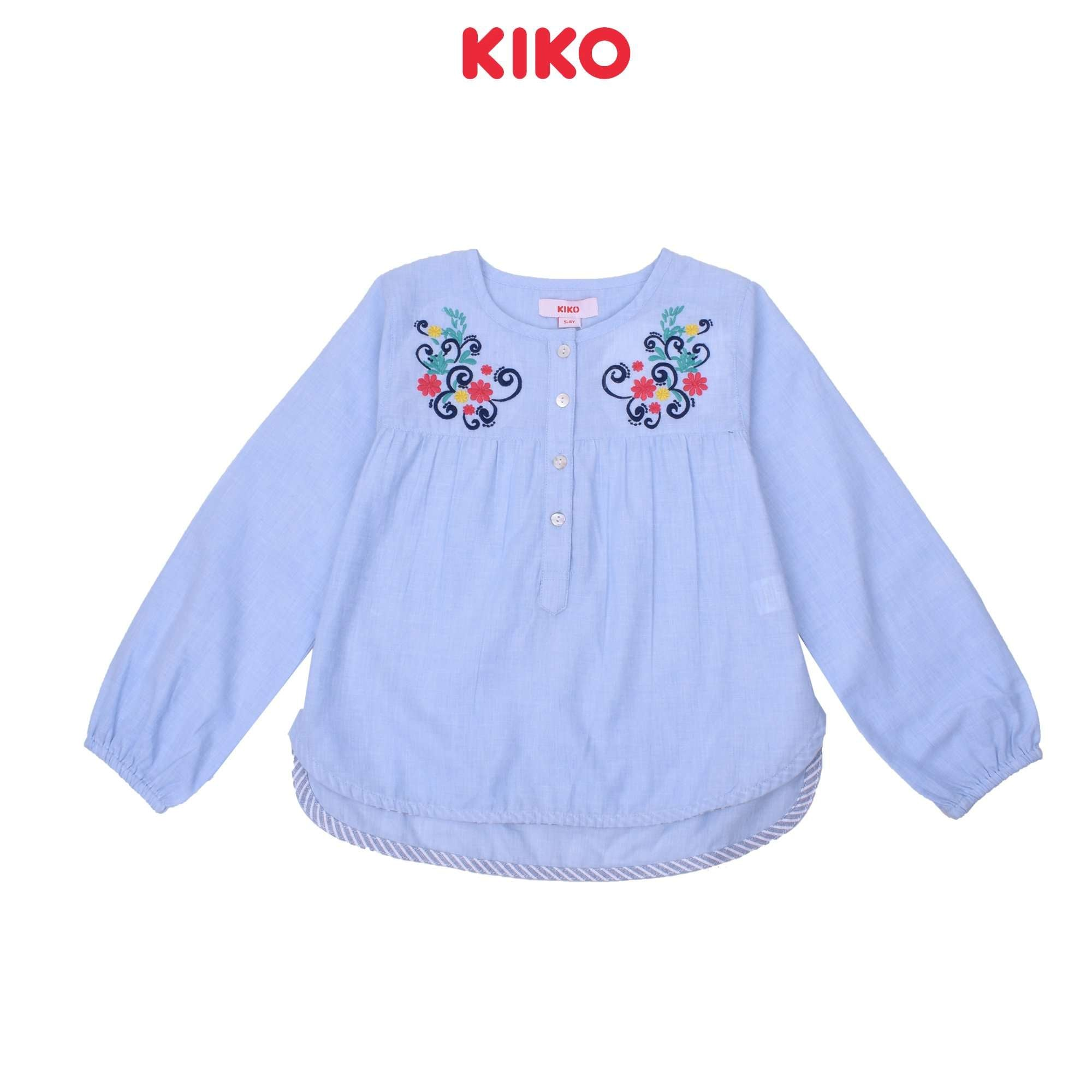 KIKO Girl Long Sleeve Blouse K925001-1545-L5 : Buy KIKO online at CMG.MY