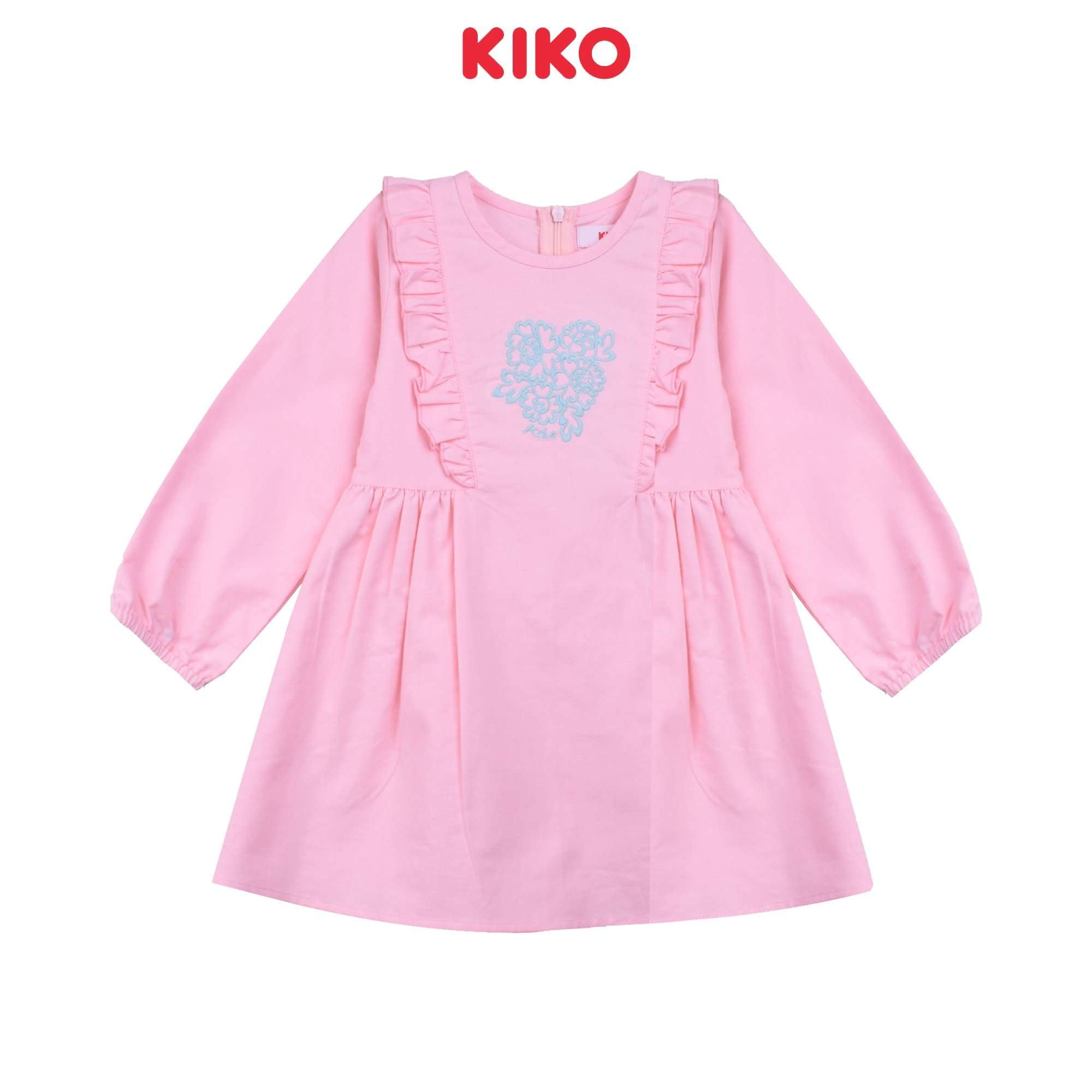 KIKO Girl Long Sleeve Dress K925001-3122-P5 : Buy KIKO online at CMG.MY